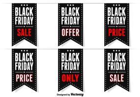 Zwarte vrijdag labels