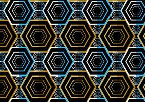 Donker naadloos vector patroon