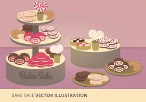 Bake Sale Vector Illustratie