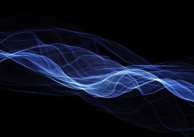 elektrische blauwe lijnen