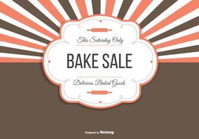 Bake Sale Achtergrond Illustratie vector