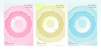 omslagset met ruwe cirkels
