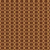 bruin zeshoek en ruitpatroon