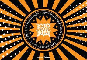 Halloween Achtergrond Illustratie vector
