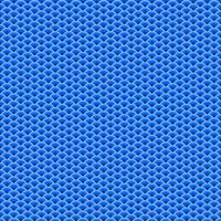 blauw waaiervormig overlappend naadloos patroon