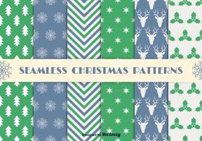 Kerst naadloze patronen