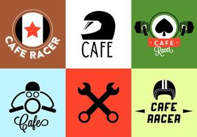 Vectorillustratie van Motorcycle Badges vector