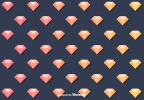 Gratis Vector Diamant Patroon