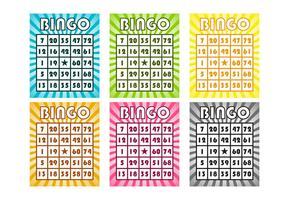 Gratis Bingo Kaarten Vector