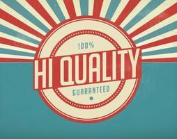 Vintage Hi Quality Illustratie