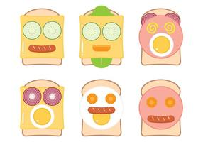 Grappig Broodgezicht