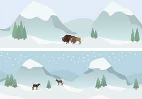 Gratis Winter Vector