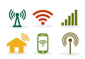 Wifi symbool vector