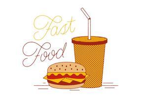 Gratis Snel Voedsel Vector
