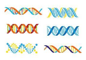 Dubbele helix vector