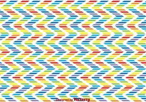 Regenboog Zig Zag Achtergrond vector