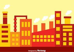 Fabrieksgebied vector
