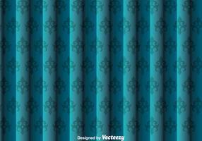 Blauwe wand tapijtwerk