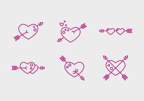 Gratis Heart Vector Pictogrammen # 2