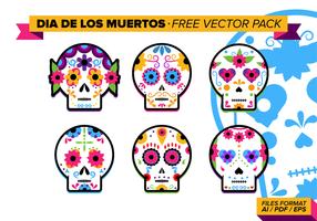 Dia De Los Muertos Gratis Vector Pakket