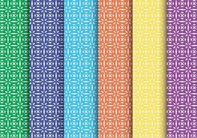 Creative Star Shape Vector Patroon