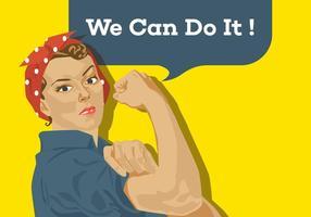 Vector Poster We kunnen het doen