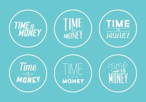 Typografische Vectorillustraties