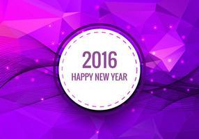Gelukkig nieuwjaar 2016 vector