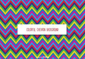 Kleurrijke Chevron Achtergrond vector