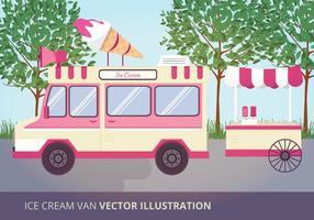 Ijs Van Van Vector Illustratie