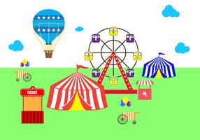 Gratis Country Fair Vector