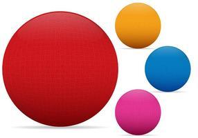 dodgeballs vector