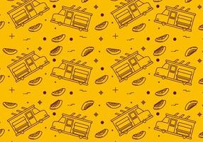Gratis Foodtruck Vector Patronen # 2