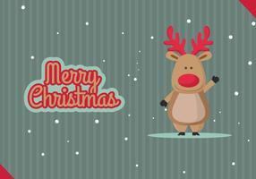 Vrolijke Kerstmis vectorillustratie
