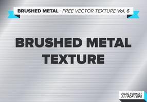 Geborstelde Metalen Gratis Vector Textuur Vol. 6