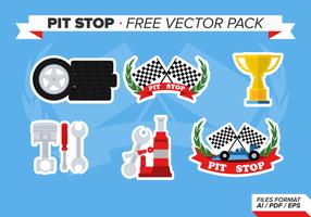 Pits Stop Gratis Vector Pakket