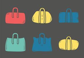 Gratis Duffle Bag Vectorillustratie vector