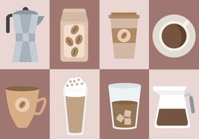 Gratis Koffie Vector