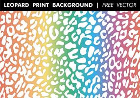 Luipaard Print Achtergrond vector