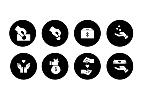 Gratis Donate Icon Vector