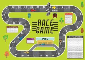 Race spel vector