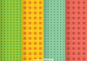Heldere kleuren puntpatroon
