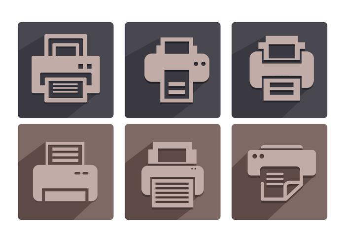 Fax-Icon-Vektoren vektor