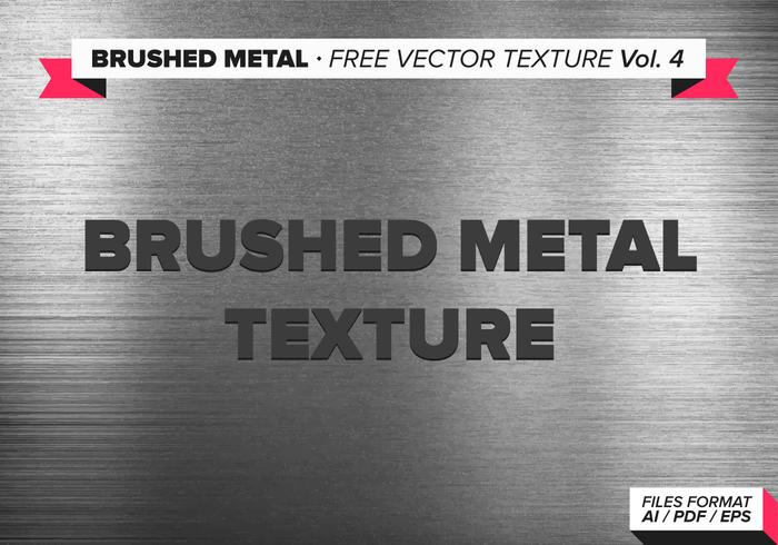 Gebürstetem Metall freien Vektor Textur vol. 4