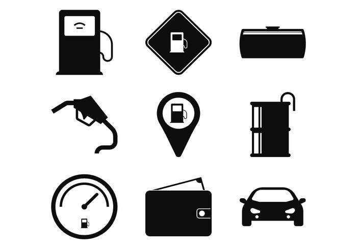 Tankstelle Icon vektor