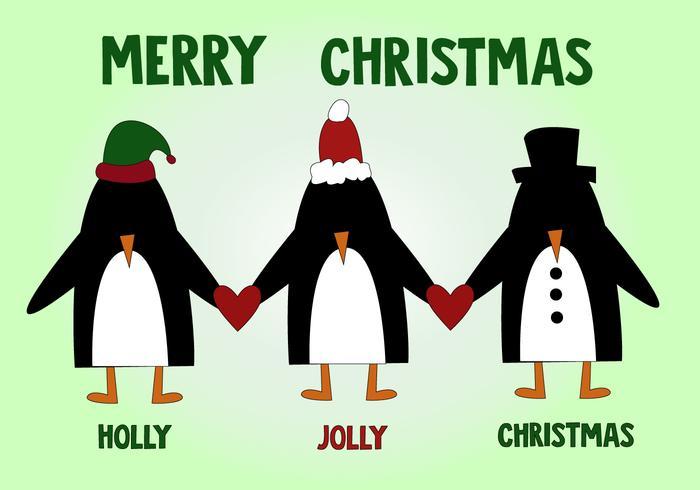 Free Penguin Weihnachten Vektor