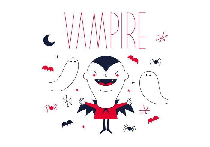 Kostenloser Vampirvektor vektor