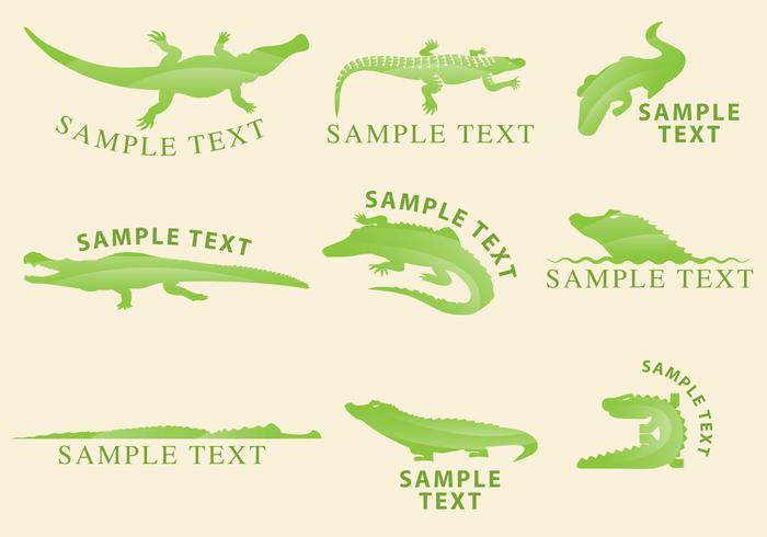 Gator Logos vektor