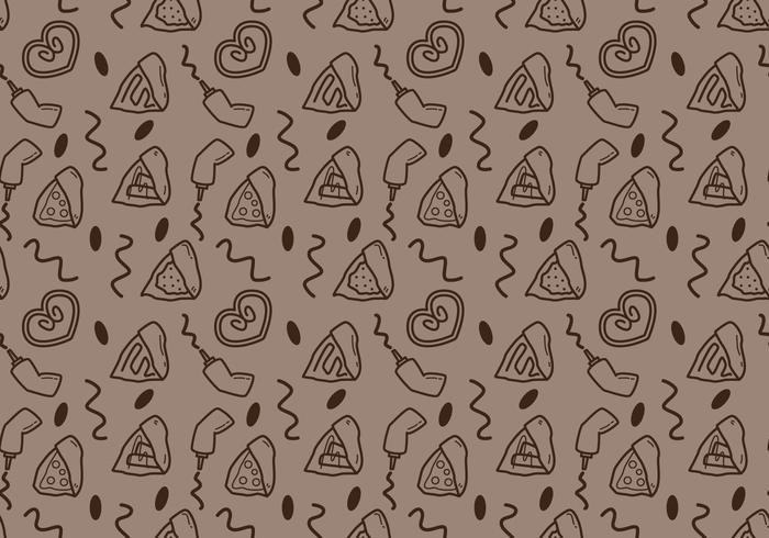 Free Crepes Muster # 3 vektor