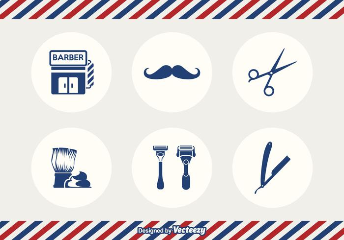 Gratis Barber Tools Vector